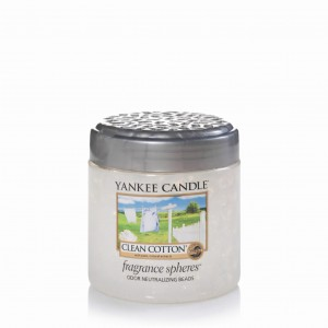 Fragrance spheres - kuleczki zapachowe Clean cotton® - Yankee Candle