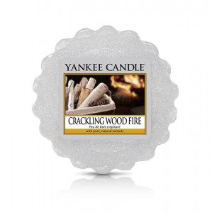Wosk zapachowy Crackling wood fire - Yankee Candle