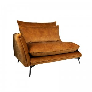 Sofa Flow lewa Adroa Gold PTMD Collection