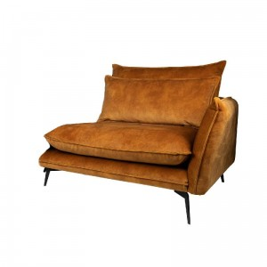 Sofa Flow prawa Adroa Gold PTMD Collection