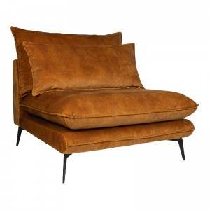 Sofa Flow Adroa Gold PTMD Collection