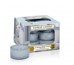 A Calm & Quiet Place tealight
